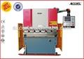 Wc67y eléctrico de la hoja de metal dobladora, electro sistema servo hidráulico, plegable de la máquina manual