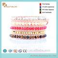 hot vente france style bracelet coloré de perles