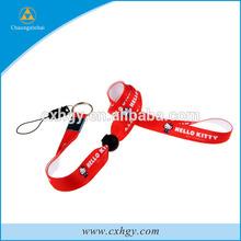 cheap custom design polyester/nylon printed adjustable neck lanyard China manufacturer