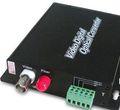 1- canal vidéo numérique/audio/de données à fibres optiques émetteur et le récepteur