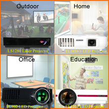 oem pico projector mobile 3D video multimedia dmd chip projector