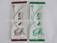 2014 China Golden Supplier!!!Custom laminated empty tea bag biodegradable
