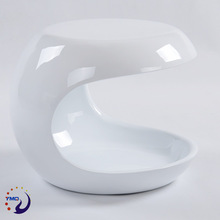 Diversified latest designs small size furniture white painted coffee table