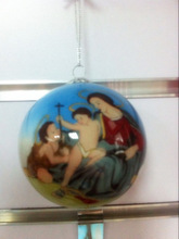 hand painted nativity ornaments