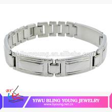 Fashion titanium magnetic bracelet wholesale BY100815