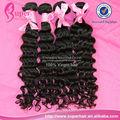 Vente en gros cheveux brésiliens au brésil, brésilienne en vrac profonde vague de cheveux armure, brésilienne cheveux fournisseurs de la chine