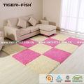 полиэфира 3d мохнатый ковер, фотографии ковровая плитка для пола