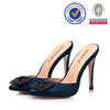 China factory sell well high heel high-end ladies plastic shoes