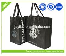 Foldable reusable shopping bag custom non woven grocery bags wholesale
