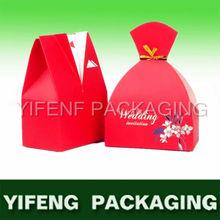 Sweet groom and bride wedding gift bags