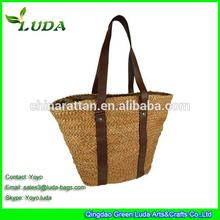 Natural Handmade Corn husk Straw Bag