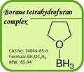 Cas. : 14044 - 65 - 6 intermedio Borane tetrahydrofuran complejo