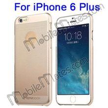 TOTU Design Case for iPhone Transparent PC Hard Case for iPhone 6 Plus 5.5 Inch