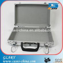 small aluminum metal suitcase