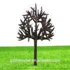 100pcs HO Scale Plastic Model Tree Road Scenery Layout Bare Branch B6030 6.0cm