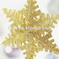 Christmas five-star ornament Fancy party decoration