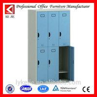 2015 newest metal 6 doors locker used for storing things innovative cheep bedroom furniture 6 door wardrobe varsace furniture