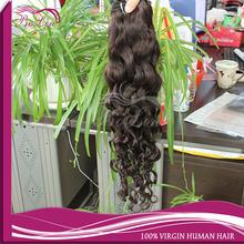 Made in China clip extensio human virgin human long hair sex