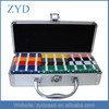 60 Plaques Professional Aluminum Chip Poker Plaque Case With Lock ZYD-HZMpcc007