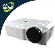 New HDMI USB VGA Multimedia LCD Projector,School Education Use Support 1280p Video Projector,Pocket Mini LED Low Cost Projector