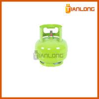 3kg used butane lpg gas tank