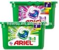 Ariel Pods 3in1 blanc 12's détergent à lessive