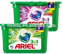 Ariel vainas 3in1 blanco $number detergente para la ropa