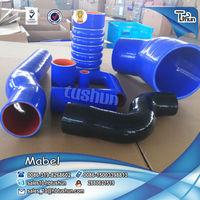 High temperature resist red/yellow/black/orange/blue radiator water silicone hose
