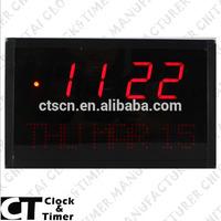 Digital Number Time Week Date Display Desk Digital Clock Calendar
