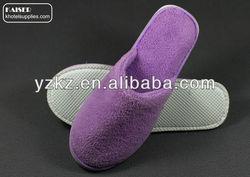 2014 soft feeling high quality disposable hotel bedroom slipper