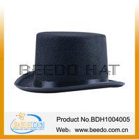 Hot selling tuxedo polyester felt top hat