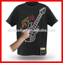 Cheapest high luminous efficiency el t-shirt