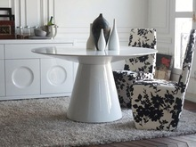Modern Divany marble base dining table (E-23)