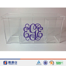 wholesale cute luxury acrylic organizer/ welcome test order