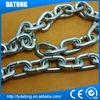 din5685 industrial steel metal galvanised chain