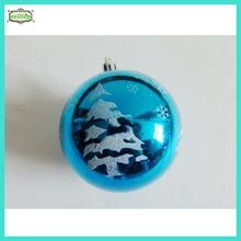 2015 hot sale 8cm paint ball wholesale christmas decorations