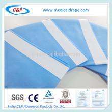 EO Sterile Single Use Non-woven Viscose +PE Side Drape