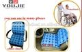 médico portátil da pressão de ar de ar almofada para cadeira de rodas