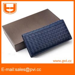 Fashionable Hand Weave Sheepskin Wallet Ladies purse