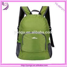 promotional fold up backpack lightweight foldable travel backpack bag