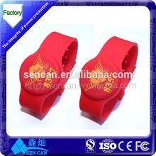 Manufacturer uhf NFC silicone rfid bracelet.lf reader writer. for tracking