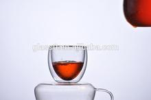 Popular Borosilicate Glass Clear Double Wall Glass Mug/Cup