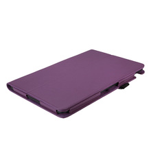 Unique design purple anti-shock tablet case for asus transformer book t200 with stand