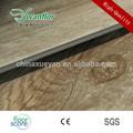 haga clic en sistema de madera de color de vinilo del pvc suelo para la decoración del hogar