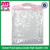 alibaba golden supplier clear pvc screen printing bag
