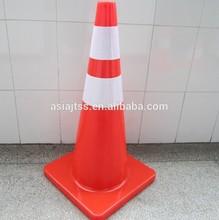 700mm pvc reflector warning cone