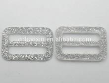 2014 hot sale shining plastic buckle for belt