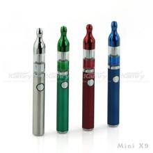 china wholesale e cigarette 510 k ecig mini x9 with chromeplate design