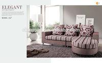 oval sofa modern fabric sofa