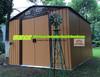 Garden shed, Metal shed, Outdoor storage shed,sliding door shed,DIY shed,